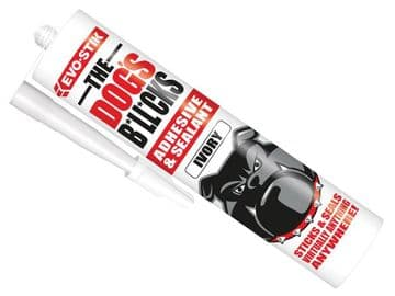 The Dog's B*ll*cks Multipurpose Adhesive & Sealant  Ivory 290ml